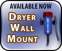 Available Now. Challengair™ Dryer Wall Mount safely lets you work or store with your dryer on the wall.