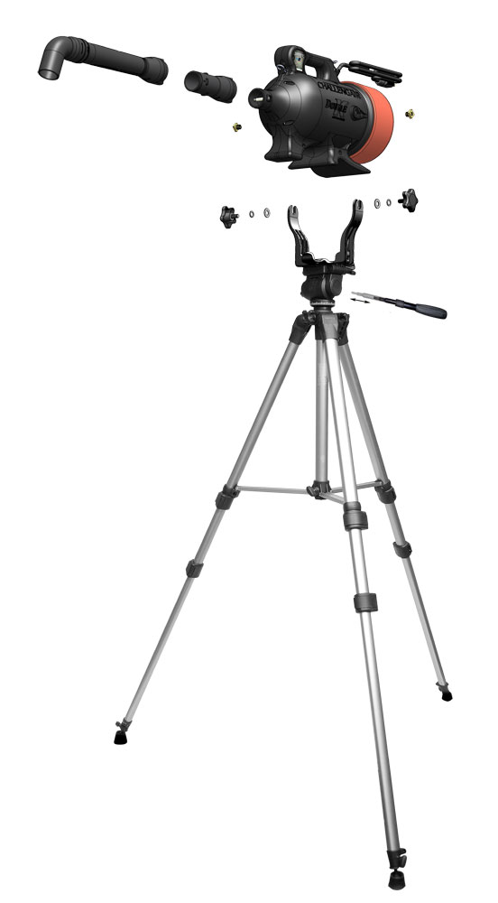 Tripod Stand Kit For Extreme Airmax 174 And 2000xl Dryers