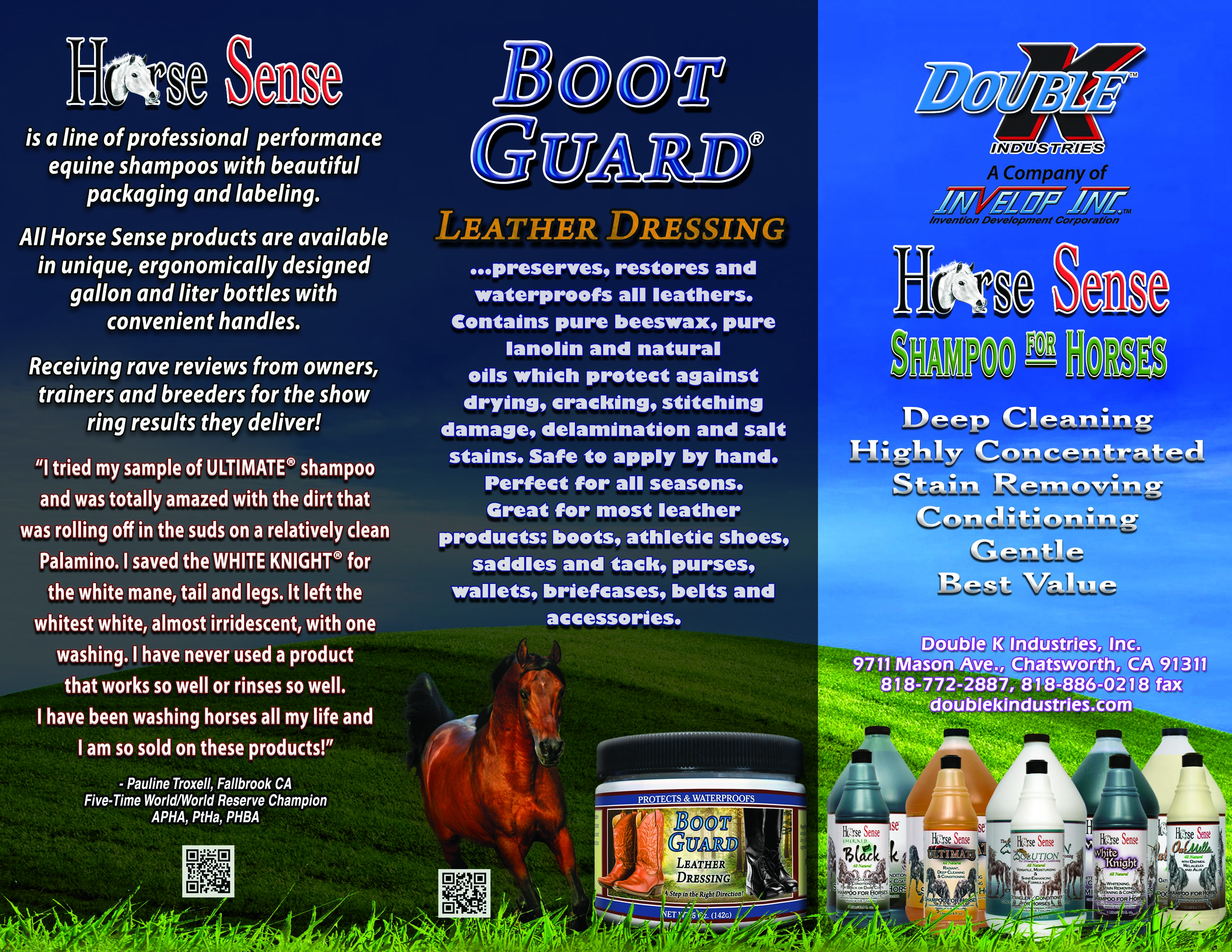 Double K Product Brochures and Flyers to Print