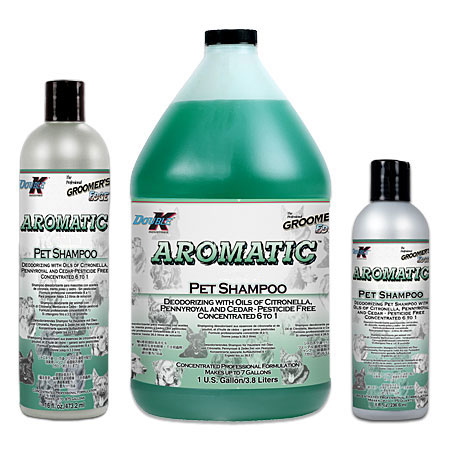 Aromatic Organic Dog Shampoo